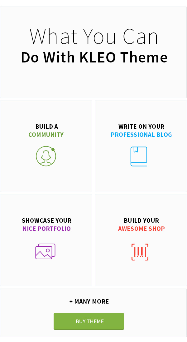 KLEO - Pro Community Focused, Multi-Purpose BuddyPress Theme - 7