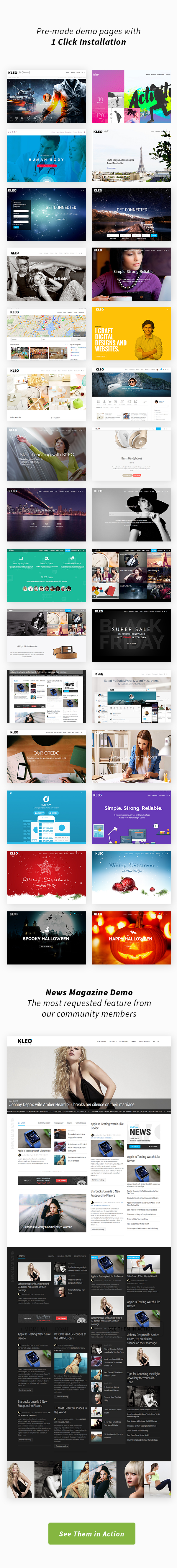 KLEO - Pro Community Focused, Multi-Purpose BuddyPress Theme - 3