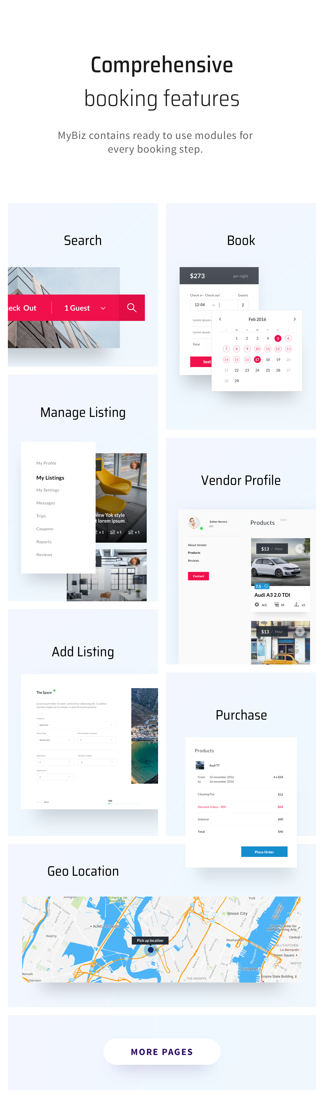 MyBiz - The First Multi-Business & Booking HTML Theme - 2